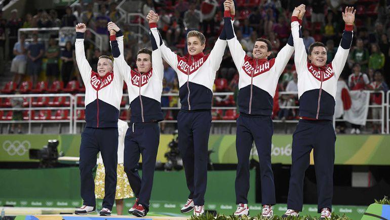 Сегодня. Рио-де-Жанейро. Сборная России: есть серебро! Фото REUTERS