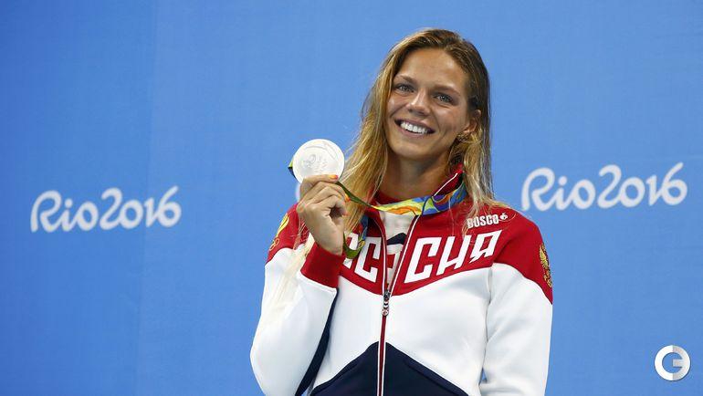 Сегодня. Рио-де-Жанейро. Плавание. Женщины. 100 м брасс. Финал. Юлия ЕФИМОВА. Фото REUTERS