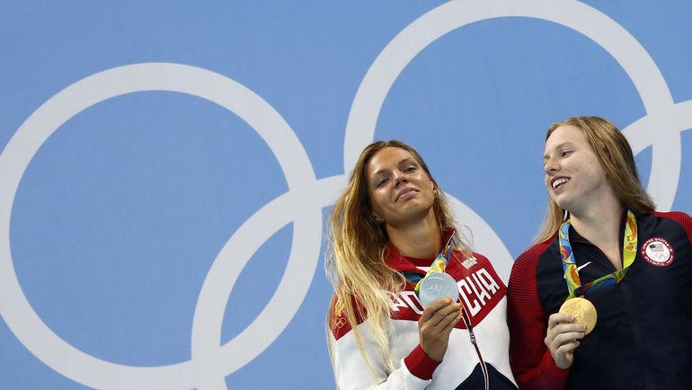Лилли КИНГ (справа) и Юлия ЕФИМОВА. Фото REUTERS