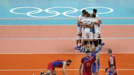Российские волейболисты потерпели первое поражение на Олимпиаде-2016