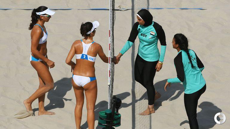 Вторник. Рио-де-Жанейро. Италия - Египет - 2:0. Фото AFP