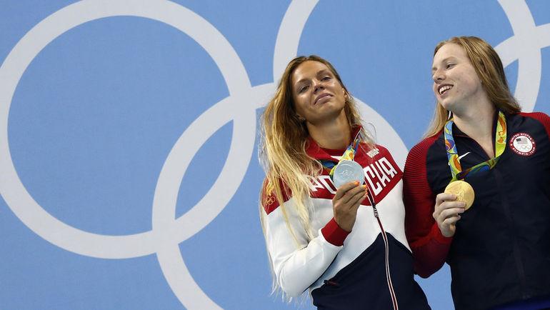 Понедельник. Рио-де-Жанейро. Юлия ЕФИМОВА и Лилли КИНГ. Фото REUTERS