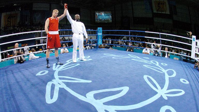 Александр ПОВЕТКИН - олимпийский чемпион-2004. Фото AFP