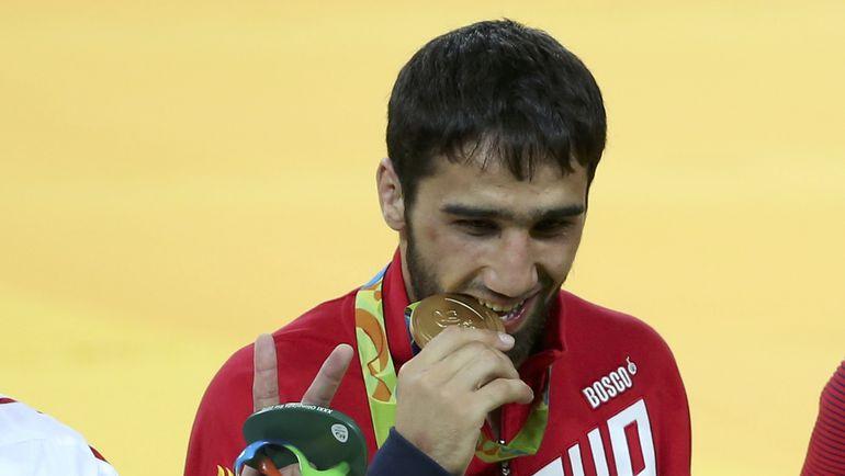 Вторник. Рио-де-Жанейро. Хасан ХАЛМУРЗАЕВ принес России третье золото. Фото REUTERS
