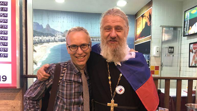 "Отец Вадим (ЗАХАРКИН) - справа. Фото Дмитрий СИМОНОВ, ""СЭ"""