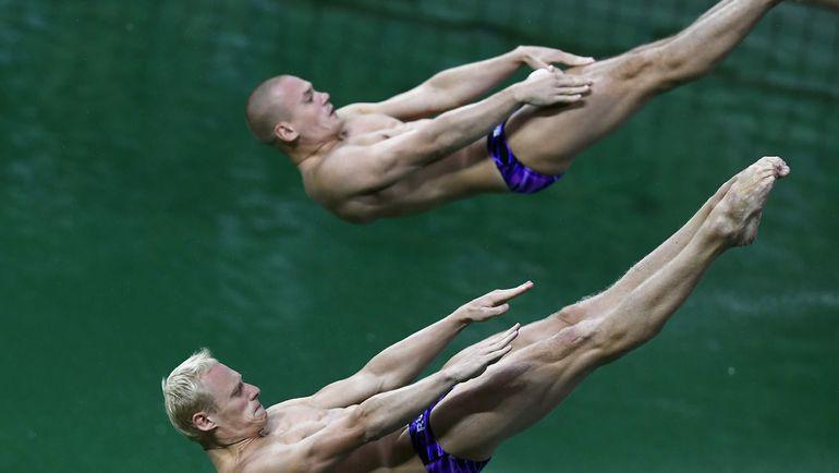Илья ЗАХАРОВ и Евгений КУЗНЕЦОВ. Фото AFP