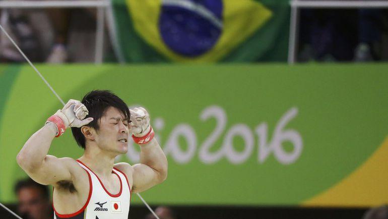 Кохэй УЧИМУРА в олимпийском Рио. Фото REUTERS