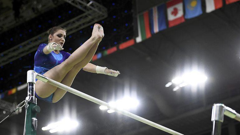 Русская гимнастка Алия Мустафина завоевала бронзу Олимпиады вличном многоборье