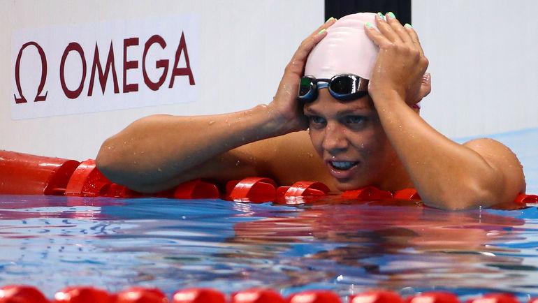 Четверг. Рио-де-Жанейро. Юлия ЕФИМОВА завоевала еще одно серебро. Фото REUTERS
