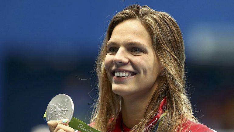 Четверг. Рио-де-Жанейро. Юлия ЕФИМОВА с еще одной серебряной медалью Рио. Фото REUTERS