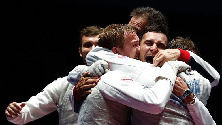 Сегодня. Рио-де-Жанейро. Радость чемпионов. Фото REUTERS