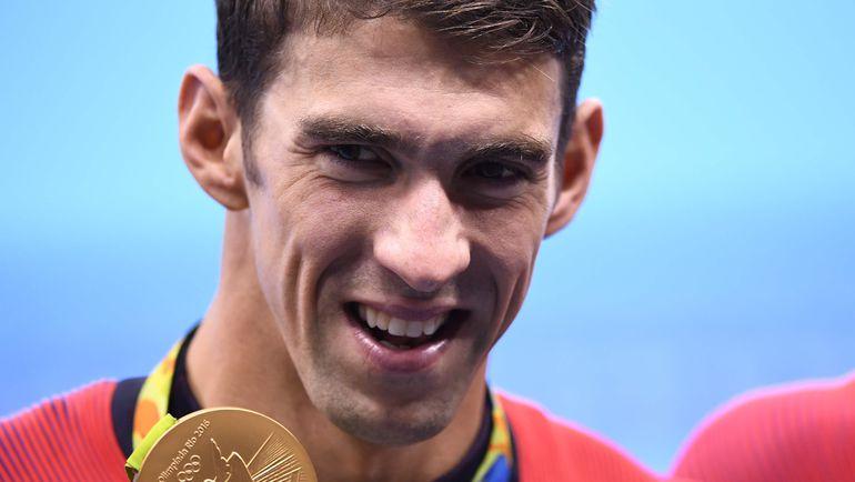 Сегодня. Рио-де-Жанейро. Майкл ФЕЛПС - 23-кратный олимпийский чемпион. Фото REUTERS