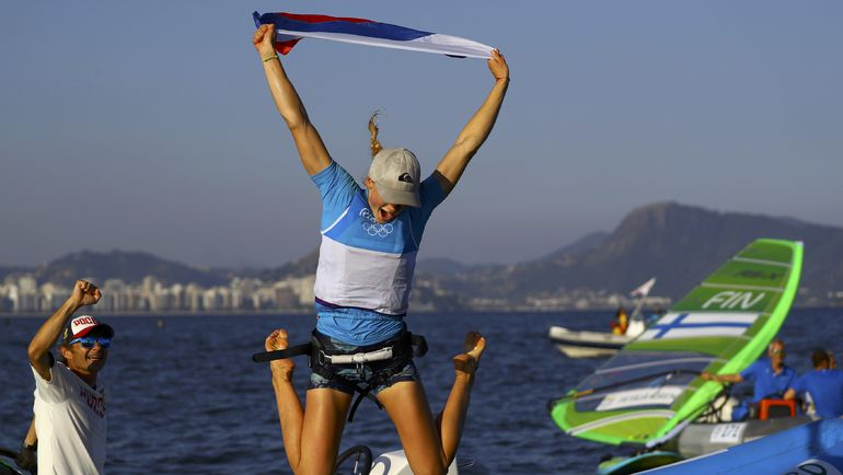 Сегодня. Рио-де-Жанейро. Стефания ЕЛФУТИНА. Фото REUTERS