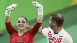 Золотые ноготки Алии Мустафиной