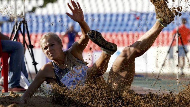 Дарья КЛИШИНА на чемпионате России-2016 в Чебоксарах. Фото REUTERS
