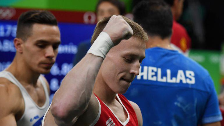 Россиянин Денис АБЛЯЗИН завоевал свое второе серебро на Олимпиаде в Рио. Фото AFP