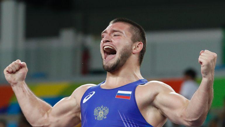 Давит Чакветадзе стал олимпийским чемпионом. Фото AFP