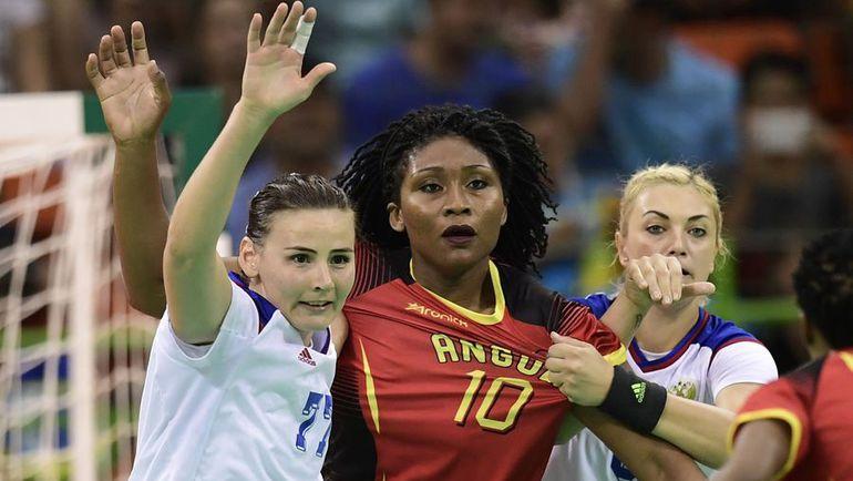Африканские гандболистки бились до последнего. Но российская команда оказалась сильнее. Фото AFP