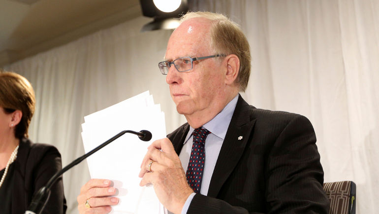 Глава независимой комиссии ВАДА Ричард МАКЛАРЕН. Фото REUTERS