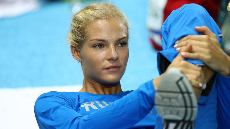Дарья КЛИШИНА - единственная российская легкоатлетка на Играх в Рио. Фото REUTERS