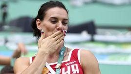 Исинбаева все-таки победила в Рио