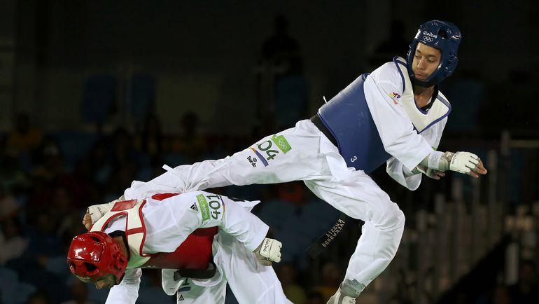 Денисенко вышел вфинал турнира потхэквондо наОлимпиаде вРио