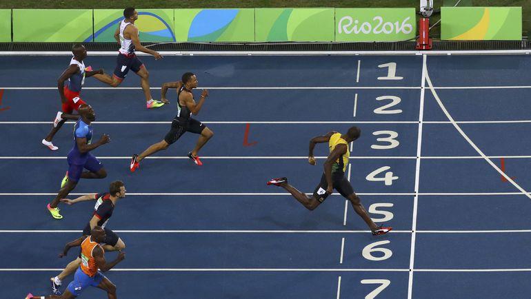 Сегодня. Рио-де-Жанейро. Финиш величайшего атлета современности. Фото REUTERS