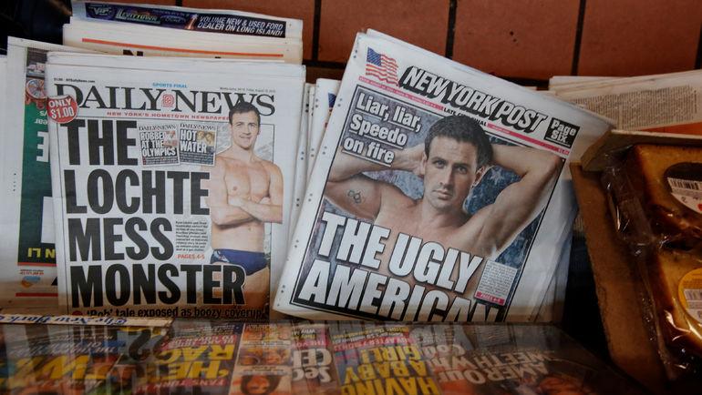 ...и журналисты. Фото REUTERS