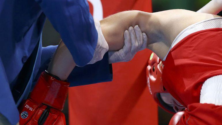 Травмированная Анастасия БЕЛЯКОВА. Фото REUTERS