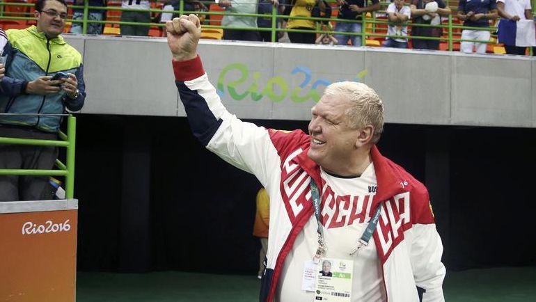 Суббота. Рио-де-Жанейро. Евгений ТРЕФИЛОВ: чемпионы! Фото REUTERS