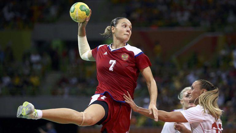 Дарья ДМИТРИЕВА (№7). Фото AFP