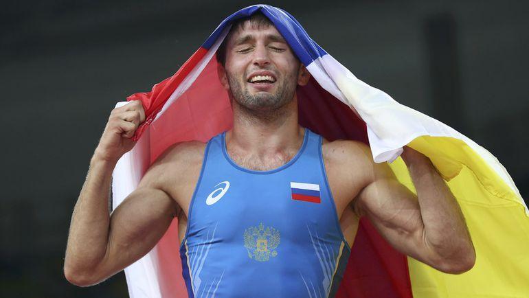 Сегодня. Рио-де-Жанейро. Сослан РАМОНОВ - олимпийский чемпион! Фото REUTERS
