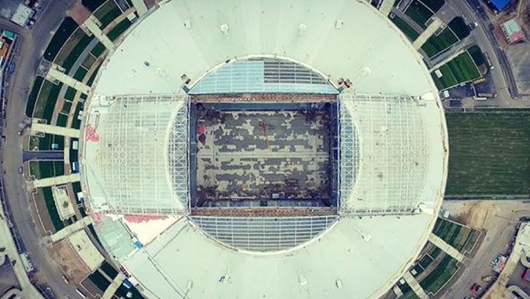 """Арена на Крестовском острове. Фото """"Питер Арена"""""""