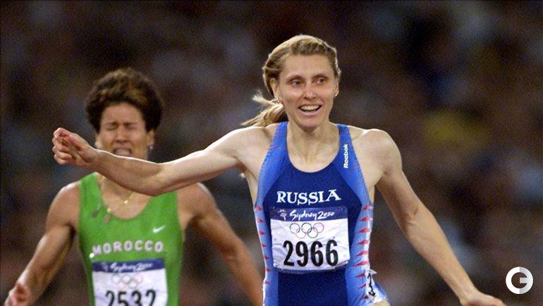 Ирина ПРИВАЛОВА, Россия - 10,77 (Лозанна, 1994). Фото AFP