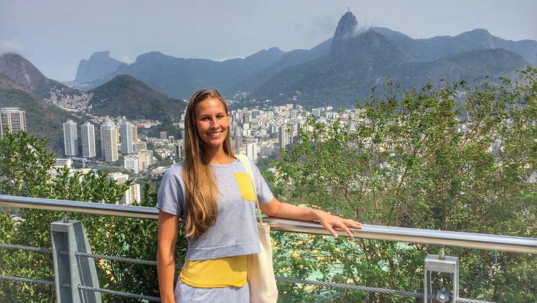 Алла ШИШКИНА в олимпийском Рио. Фото Из архива Аллы Шишкиной