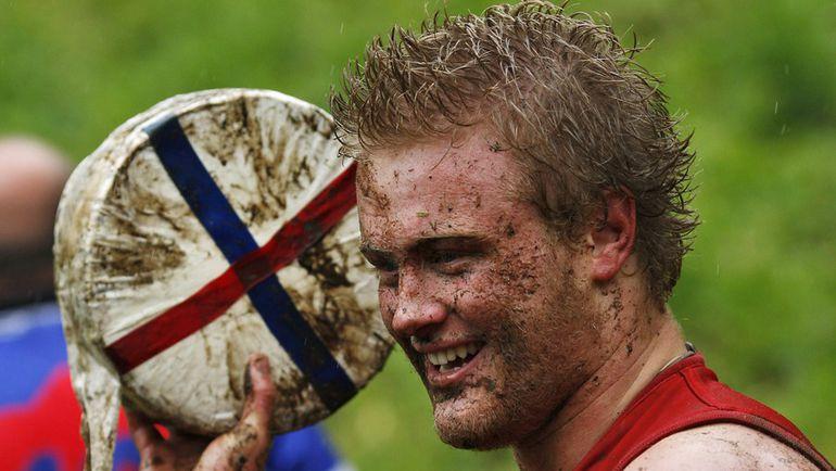 Куперсхилдская сырная гонка. Фото AFP