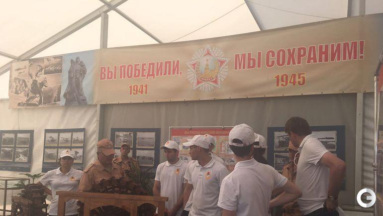 Двукратная олимпийская чемпионка Елена Исинбаева провела зарядку для российских военнослужащих на авиабазе Хмеймим в Сирии. Фото Пресс-служба ЦСКА