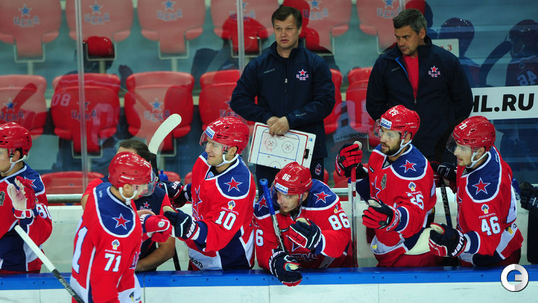 «АкБарс» проиграл ЦСКА вматче стабильного чемпионата КХЛ