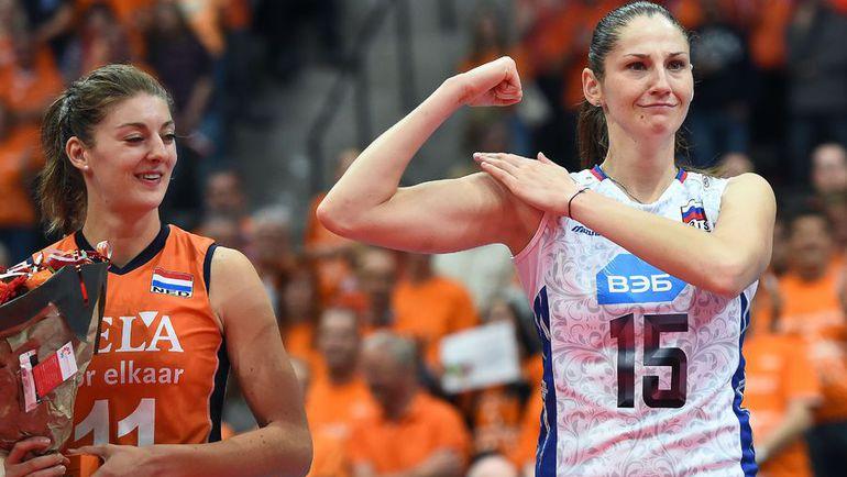 Татьяна КОШЕЛЕВА (справа). Фото AFP