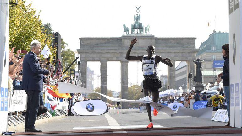 Берлинский марафон.