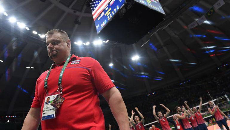 Сборная России Владимира АЛЕКНО, олимпийский чемпион-2012, в Рио стала четвертой. Фото AFP
