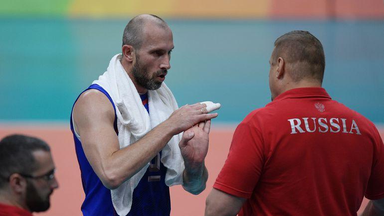 Сергей ТЕТЮХИН (слева) и Владимир АЛЕКНО. Фото AFP