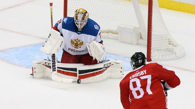 Сборная РФ похоккею проиграла Канаде ввыставочной игре