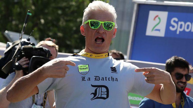 Олег ТИНЬКОВ, владелец одноименной команды. Фото AFP