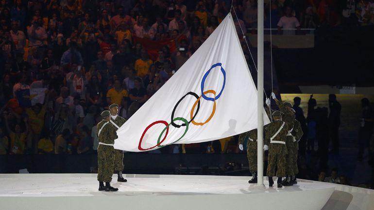 Церемония открытия Олимпийских игр-2016. Фото REUTERS