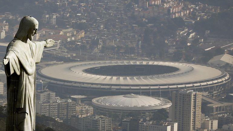"""Стадион """"Маракана"""" в Рио-де-Жанейро. Фото REUTERS"""