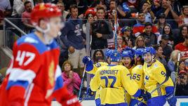 Овечкин едва не спас Россию в матче со Швецией