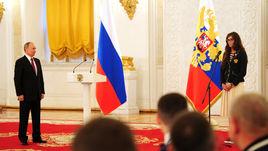 Президент России наградил паралимпийцев