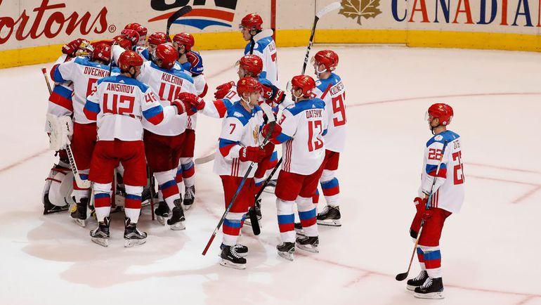 Игроки сборной России. Фото AFP