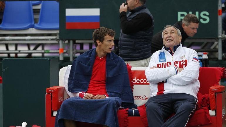 Андрей КУЗНЕЦОВ (слева) и Шамиль ТАРПИЩЕВ. Фото Сергей КИВРИН/Андрей ГОЛОВАНОВ